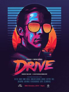 DRIVE poster: BBC Rescore on Behance