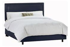 Avery Bed, Navy on OneKingsLane.com Cal King $679.00