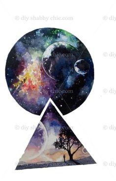 15 new ideas tattoo watercolor galaxy art Watercolor Galaxy, Galaxy Painting, Galaxy Art, Watercolor Paintings, Tattoo Watercolor, Space Watercolor, Watercolor Drawing, Art Galaxie, Art Inspo