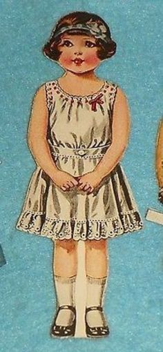 "CUT AMERICAN COLORTYPE 6"" GIRL # 609 - LAURETTE & 8 CUT OUTFITS (03/12/2014)"
