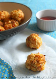 I originally called this recipe 'carrot and cheddar balls' but I just knew I wouldn't be able to get through a post with a straight face, so I changed it. I just about managed to get through writing 'medium-sized balls' in the recipe but that's all I can manage. 'Bites' sounds much more pleasant, yes? …