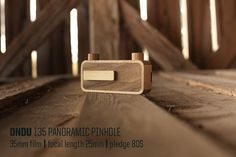 Beautifully Crafted Wooden Pin-Hole Cameras That Are Made To Last.  Belleza!