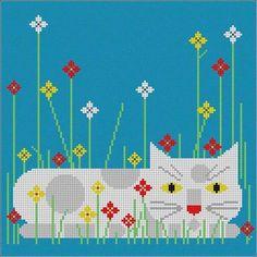 Charley Harper - Stitch Therapy Needlepoint