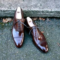 Saint Crispin, Oxford Shoes, Dress Shoes, Lace Up, Footwear, Classic, Style, Fashion, Formal Shoes