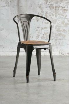 Fauteuil Multipl's assise bois metalandwoods 160euros