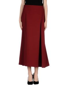 I found this great OBLIQUE Long skirt on yoox.com. Click on the image above to get a coupon code for Free Standard Shipping on your next order. #yoox