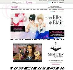 Beauty Vloggers Elle and Blair Fowler Plan Cosmetics Line