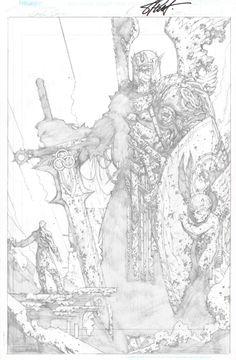 Soul Saga by Stephen Platt Comic Book Artists, Comic Artist, Comic Books Art, Soul Saga, Character Art, Character Design, Comic Drawing, Superman Drawing, Western Comics