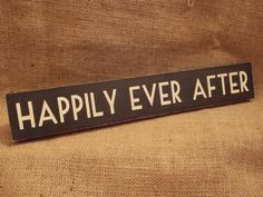 Black Wooden Art Deco Style Wall Sign - Happily Ever After, College Room, How To Make Tea, Wooden Art, Save Water, Wine Drinks, Art Deco Fashion, Wall Signs, Crafts, Inspiration