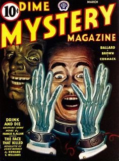 monsterman:  Dime Mystery Magazine (Vol.30 No.1, March 1944)