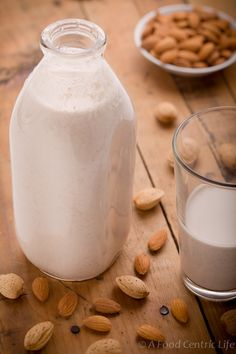 Ahhh...there is nothing better than some fresh Almond Milk (and with cocoa and mint--OMG)