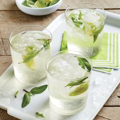 Paired with peppery ginger, the anise flavor of Thai basil gives you a highly refreshing summer sipper. Look for kaffir lime leaves at...