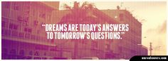 Dreams answers questions tomorrow vintage facebook timeline cover