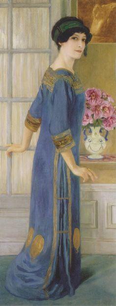 Clémentine Hélène Dufau, Portrait of the Artist, 1911