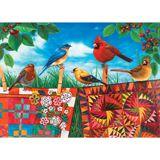 New Jigsaw Puzzles - Birds & Quilts 1000 Piece Jigsaw Puzzle