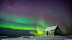 La aurora boreal. Foto: Ivan Dementievskiy - 4 (© Derechos Reservados de la British Broadcasting Corporation Corporación Británica de Radiodifusión 2013)