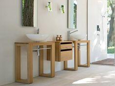 badezimmer  Badmöbel aus Massivholz