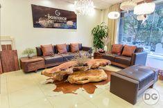 Sofa gỗ óc chó SF - DG 001 -