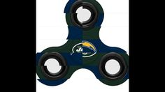 NFL Los Angeles Chargers 3-Way Fidget SpinnerOfficial NFL Teams 3-Way Fidget Spinners