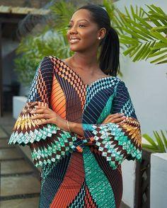 ESE YELLOW-TWO PIECE African fashion Ankara kitenge African women dresses African prints Braids Nigerian wedding Ghanaian fashion African wedding DKK African Fashion Designers, African Fashion Ankara, Ghanaian Fashion, African Inspired Fashion, African Print Dresses, African Dresses For Women, African Print Fashion, Africa Fashion, African Wear