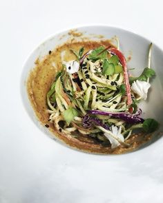 First day of week two with @vege.lab @plantlabculinary popup in Milan. Today our students have worked on cilantro wrappers for tomorrows dumplings and on ice creams.. super yummy . They have also plated this delicious Sesame spaghetti noodles. Its been a busy monday!
