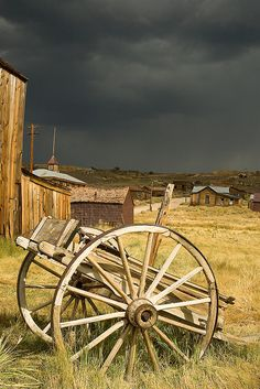 Wagon in Bodie Ghost Town