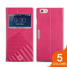 Joyroom Hot Padding Lines Style Elegant Leather Case for iPhone 6: $11.42