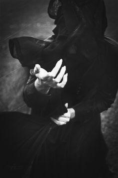 Hands of the Goddess by ~6v4MP1r36. S) --- Black - Creepy - Gothic - Dark Art