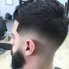 Hairstyles for men - men's Hairstyles - Fade hairstyle Mens Hairstyles Fade, Hairstyles Haircuts, Cool Haircuts, Haircuts For Men, Barber Haircuts, Undercut, Jarhead Haircut, Hair And Beard Styles, Short Hair Styles
