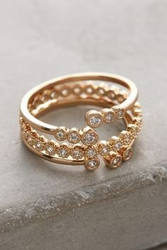 pretty stacking rings