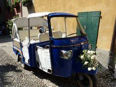 Cooles Hochzeitsmobil