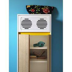 Skap Y madia con impianto stereo di Miniforms