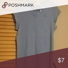 Polo Ralph Lauren V Neck Blue RL Polo V Neck Polo by Ralph Lauren Tops Tees - Short Sleeve