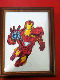 My most fave drawing iron man