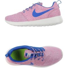 Nike Sneakers ($145) ❤ liked on Polyvore featuring shoes, sneakers, light purple, multi color sneakers, multi color shoes, nike sneakers, flat shoes and round cap