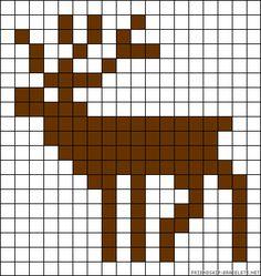 Needlepoint Patterns, Perler Patterns, Loom Patterns, Crochet Patterns, Fair Isle Knitting Patterns, Knitting Charts, Mini Cross Stitch, Cross Stitch Animals, Diy Crochet Graph