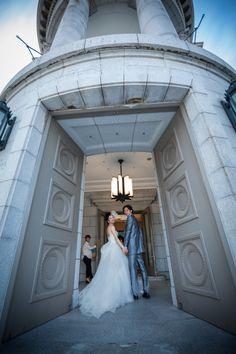 2shot / ツーショット / ドレス/ crazy wedding / ウェディング / 結婚式 / オリジナルウェディング/ オーダーメイド結婚式 http://www.crazywedding.jp/smile/