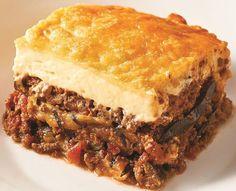 Receta para hacer Musaca - Moussaka Musaka, Cheesesteak, Lasagna, Sandwiches, Recipies, Ethnic Recipes, Desserts, Food, Tasty Food Recipes
