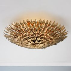 Check out Olive Leaf Semi-Flush Ceiling Light - 6 Light from Shades of Light
