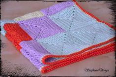 SALE50 offCrochet newborn blanketNewborn Baby by StephanDesign, $17.25