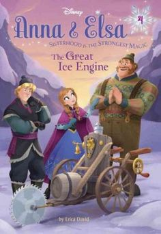 J SERIES DISNEY. When Kristoff and the ice harvesters challenge Oaken and his new invention to a friendly contest, Oaken, Elsa, and Anna becomes embroil in a mystery involving a missing ice harvesting machine.