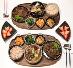 Asian Recipes, Real Food Recipes, Yummy Food, Healthy Recipes, Korean Traditional Food, Bento, Mouth Watering Food, Aesthetic Food, Korean Food