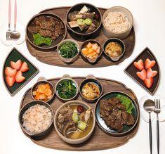 Asian Recipes, Real Food Recipes, Yummy Food, Tasty, K Food, Food Porn, Korean Traditional Food, Bento, Food Snapchat