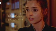"Clara theory continued with the latest episode's clues. Interesting how Clara sang: ""I'm lost and I'm found...I'm hungry like the WOLF."" It was like she wasn't even aware she was singing it."