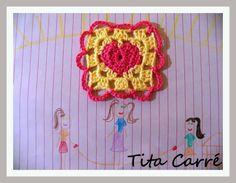 Tita Carré - Agulha e Tricot : Crochet com amor de mãe de Quintana para filha