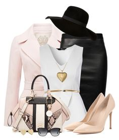 """#117"" by joana-raquel-26 ❤ liked on Polyvore featuring Forever New, Helmut Lang, Jane Norman, Gianvito Rossi, GUESS, Bulgari and Kate Spade"