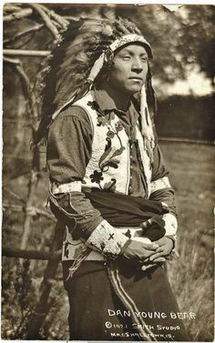 Dan Young Bear - Sac & Fox (Meskwaki) - 1921