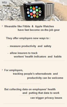 #Wearables like #Fitbit & #AppleWatch have fast become #OnTheJob gear  #business #journojobs http://arzillion.com/S/37xEMI