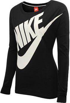 NIKE Women's Signal Long-Sleeve T-Shirt - SportsAuthority.com