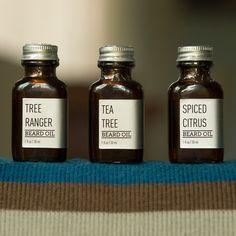 Beardbrand beard oils